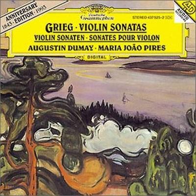 Augustin Dumay / Maria Joao Pires 그리그 : 바이올린 소나타 - 뒤메이, 피레스 (Grieg : Violin Sonatas)