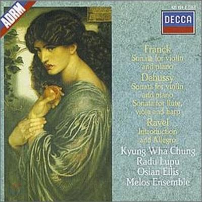 정경화 / Radu Lupu 프랑크 / 드뷔시: 바이올린 소나타 (Franck / Debussy : Sonata for Violin & Piano)