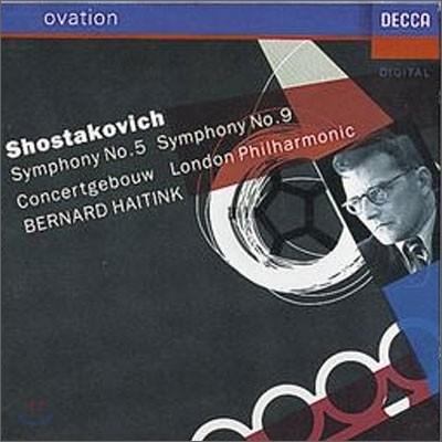 Bernard Haitink 쇼스타코비치: 교향곡 5번 9번 (Shostakovich: Symphonies Nos.5 & 9) 하이팅크