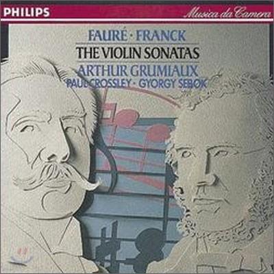 Arthur Grumiaux 포레 / 프랑크 : 바이올린 소나타 (Faure: Violin Sonata in E minor / Franck: Violin Sonata in A) 아르투르 그뤼미오