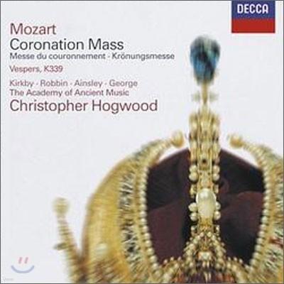 Christopher Hogwood 모차르트: 대관식 미사 (Mozart : Coronation Mass, Vesperae solennes de confessore K.339)
