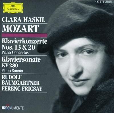 Clara Haskil 모차르트: 피아노 협주곡 13, 20번 (Mozart: Piano Concertos K415, 466)
