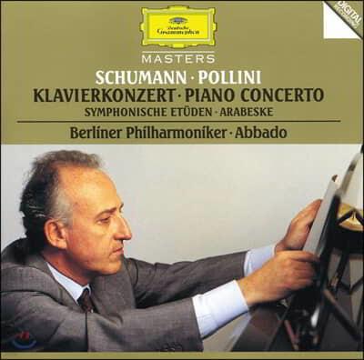 Maurizio Pollini 슈만: 피아노 협주곡, 교향곡적 연습곡 - 폴리니