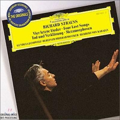 Gundula Janowitz / Herbert von Karajan 슈트라우스: 죽음과 정화, 4개의 마지막 노래 (R.Strauss : Four Last Songs)