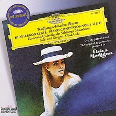 Geza Anda 모차르트 : 피아노 협주곡 17번 21번 `엘비라 마디간` 6번 (Mozart: Piano Concertos) 게자 안다