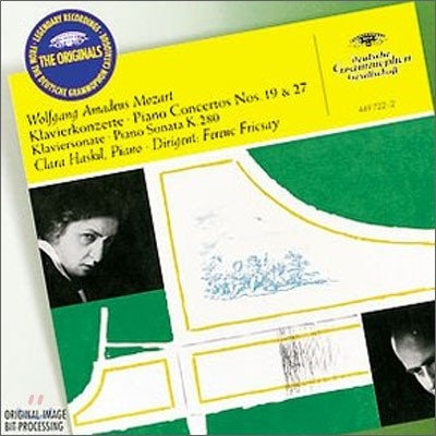 Clara Haskil 모차르트: 피아노 협주곡 19ㆍ27번 - 클라라 하스킬 (Mozart: Piano Concertos No.19 & 27, Piano Sonata K.280)