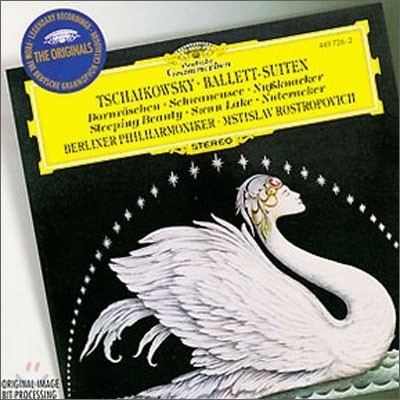 Mstislav Rostropovich 차이코프스키: 3대 발레 모음곡 (Tchaikovsky : Ballet Suites - Swan Lake, Sleeping Beauty, Nutcracker)