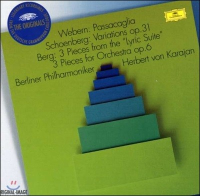 Herbert von Karajan 베베른 : 파사칼리아 / 쇤베르크: 변주곡, Op. 31 / 베르크: 서정 모음곡 (Webern: Passacaglia / Schoenberg: Variations / Berg: 3 Pieces from the 'Lyric Suites')