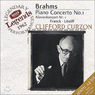 Clifford Curzon 브람스: 피아노 협주곡 1번 (Brahms: Piano Concerto No.1)
