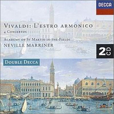 Neville Marriner 비발디: 화성의 영감, 4개의 협주곡 (Vivaldi: L'estro armonico, 4 Concertos)