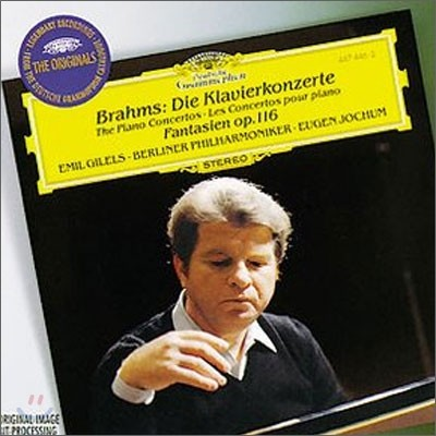 Emil Gilels 브람스: 피아노 협주곡 1번 2번 (Johannes Brahms: Piano Concerto) 에밀 길렐스