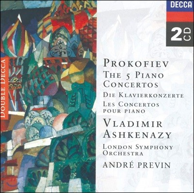Vladimir Ashkenazy 프로코피에프: 피아노 협주곡 (Prokofiev: Piano Concertos)