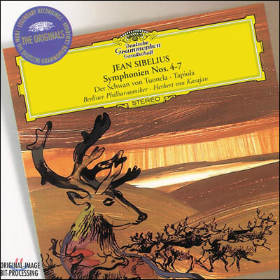Herbert von Karajan 시벨리우스: 교향곡 4-7번, 투오넬라의 백조