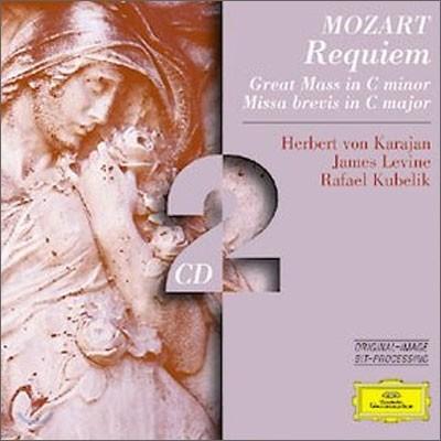 Herbert von Karajan / Rafael Kubelik 모차르트: 레퀴엠ㆍ미사 C 단조 (Mozart: Requiem K.626, Mass K427 'Great')