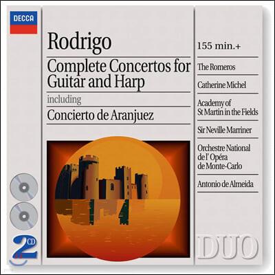 Pepe Romero / Barry Davis 호아킨 로드리고: 기타 및 하프 협주곡집 (Joaquin Rodrigo: Concertos for Guitar and Harp)