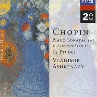 Vladimir Ashkenazy 쇼팽: 피아노 소나타, 연습곡, 환상곡 - 블라디미르 아쉬케나지 (Chopin: Piano Sonatas, 24 Etudes, Fantaisie)