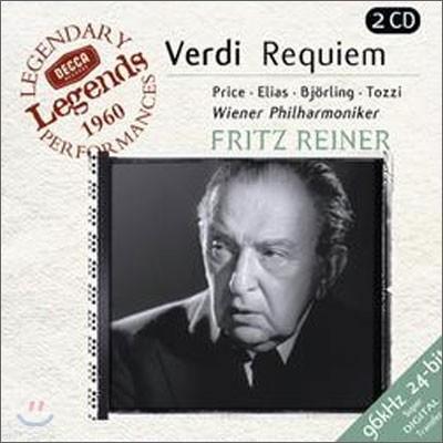 Fritz Reiner 베르디: 레퀴엠, 성가 4편 (Verdi: Messa da Requiem, Quattro Pezzi Sacri) 프리츠 라이너, 빈 필하모닉