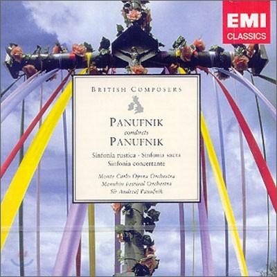 Andrzej Panufnik 파누프니크: 교향곡, 신포니아 콘체르탄테 (Andrzej Panufnik: Sinfonia sacraㆍSinfonia rusticaㆍSinfonia Concertante)