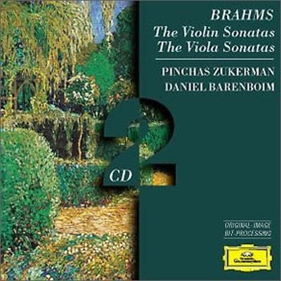 Pinchas Zukerman / Daniel Barenboim 브람스: 바이올린 소나타 - 주커만, 바렌보임 (Brahms:  Violin Sonatas)