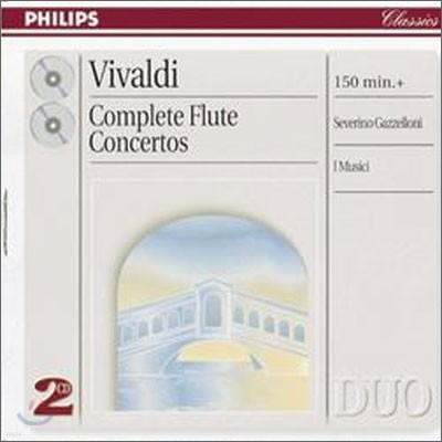 Vivaldi : Complete Flute Concertos : GazzelloniㆍI Musici