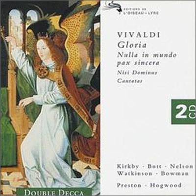 Christopher Hogwood / Emma Kirkby 비발디: 글로리아 - 엠마 커크비, 크리스토퍼 호그우드 (Vivaldi: Gloria RV589, Nisi Dominus, Cantatas)