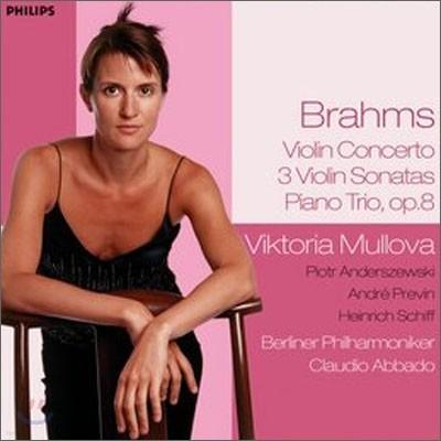 Viktoria Mullova 브람스: 바이올린 소나타, 협주곡, 피아노 트리오 (Brahms: Violin Concerto, Sonatas, Piano Trio No.1)