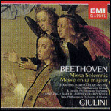 Beethoven : Missa SolemnisㆍMass in C : Giulini