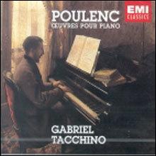 Poulenc : Oeuvers Pour Piano : Tacchino