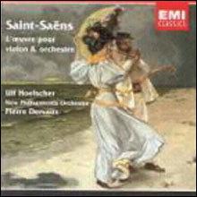 Saint-Saens : L`Oeuvre Pour Violon Et Orchestre : HoelscherㆍDervaux