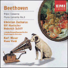 Beethoven : Triple Concerto Etc. : ZachariasㆍHoelscherㆍSchiff