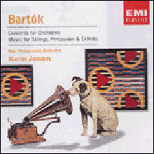 Bartok : Concerto for OrchestraㆍMusic for Strings, Percussion and Celesta : Jansons