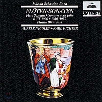 Aurele Nicolet / Karl Richter 바흐: 플루트 소나타 (Bach : Flute Sonatas BWV 1030 1031 1032 1020 1013) 오렐 니콜레, 칼 리히터