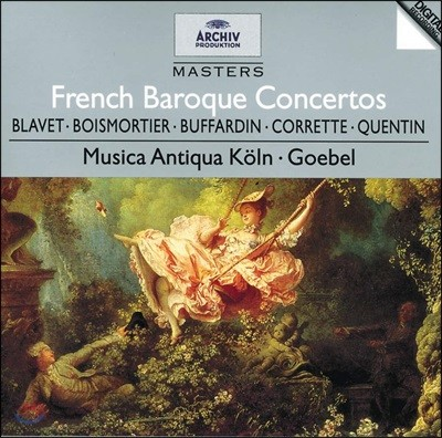Reinhard Goebel 프랑스 바로크 협주곡집 (French Baroque Concertos)