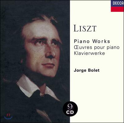 Jorge Bolet 리스트: 피아노 작품집 (Liszt: Piano Works)