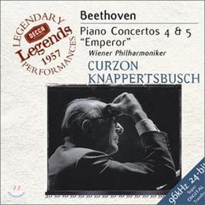 Beethoven : Piano Concertos Nos.4 & 5 : Clifford CurzonㆍHans Knappertsbusch