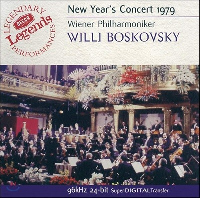 Willi Boskovsky 빈 신년 음악회 1979 (New Year's Concert 1979)