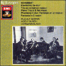 Schubert : Piano Trio D.929ㆍFantasie D.934 : Rudolf SerkinㆍAdolf Busch
