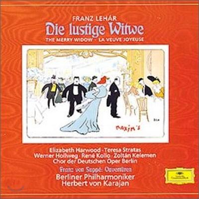 Lehar : Die lustige Witwe : Karajan