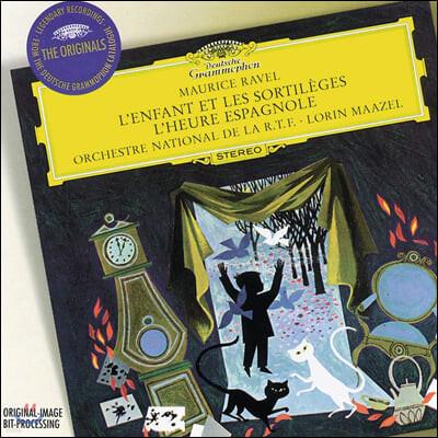 Lorin Maazel 라벨: 아이와 마법스페인의 시간 (Ravel: L'enfant et les Sortileges, L'heure Espagnole)