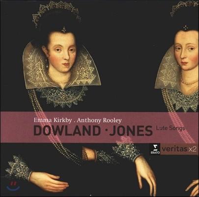 Emma Kirkby / Anthony Rooley 다울랜드 / 존스: 류트 가곡집 (Dowland / Jones : Lute Songs)