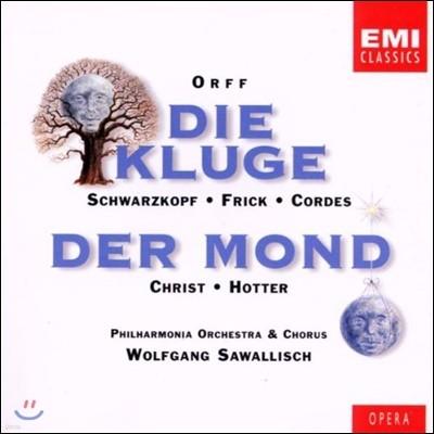 Wolfgang Sawallisch 칼 오르프: 오페라 '슬기로운 아가씨', '달' (Carl Orff: Die Kluge, Der Mond)