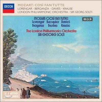 Mozart : Cosi Fan Tutte : Georg Solti