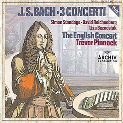Bach : 3 Cooncerti : Pinnock