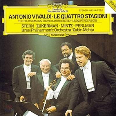 Isaac Stern / Pinchas Zukerman/ Shlomo Mintz / Itzhak Perlman 비발디: 사계 (Vivaldi: The Four Seasons)