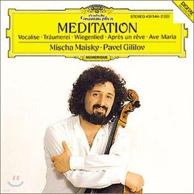 Mischa Maisky 미샤 마이스키 첼로 소품집 - 메디테이션 (Meditation)