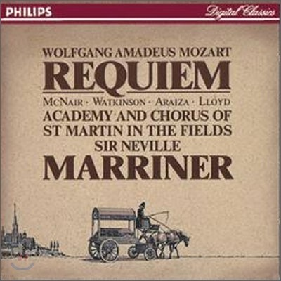 Mozart : Requiem : Neville Marriner