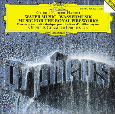 Orpheus Chamber Orchestra 헨델: 왕궁의 불꽃놀이, 수상음악 외 (Handel: Music for the Royal Fireworks,Water Music etc.)