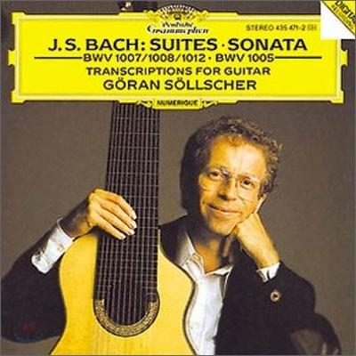 Bach : SuitesㆍSonata : Goran Sollscher