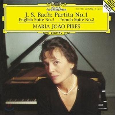 Maria Joao Pires 바흐: 파르티타 1번, 영국 모음곡 3번 (Bach: Partita No.1, English Suite No.3, French Suite No.2)