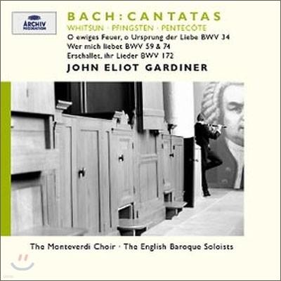 Bach : Cantatas BWV 34ㆍ59ㆍ74ㆍ172 : Gardiner